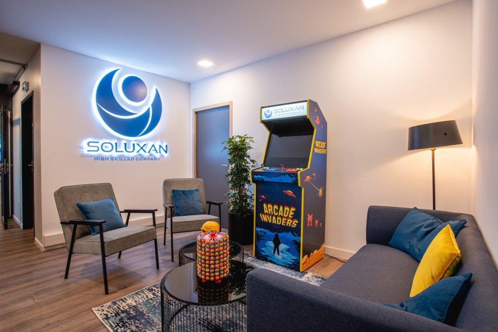 Locaux Soluxan - accueil